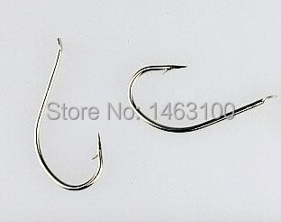 At Most 15-80pcs/pack Extra Strong Smooth Stainless Steel Fish Iron Hooks Saltwater Sea Fishhooks Sizes 4-28# Free Shipping(China (Mainland))