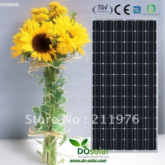 200W solar panels/ PV modules, high efficiency , cheapest price in China, stock already, FREE SHIPPING in  stock