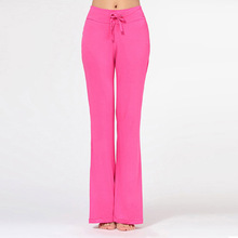 Best Selling Multicolored Womens Casual Sports Cotton Soft Exercise Training Loose Pant