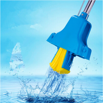 Strengthen stainless steel retractable rod sponge mop water absorbent mop andwhen pva mop folded water(China (Mainland))