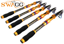 High Quality GBZ 1802 98% Carbon Hard 18cm 2 Section Fishing Rod Lure Rod Strong Telescopic Fishing Rod Pole