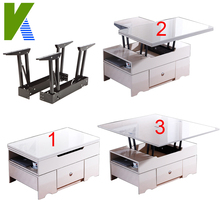 Lifting Desk Top Coffee Table Mechanism For Livingroom Furniture KYD001-1(China (Mainland))