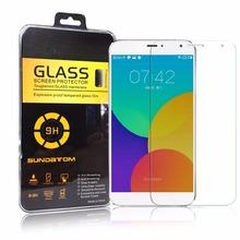 Meizu экран протектор M1 M2 примечание MX4 MX5 Pro 5 закаленное стекло 0.2 мм против взрывов , анти — анти-разбиться оригинальный Sundatom