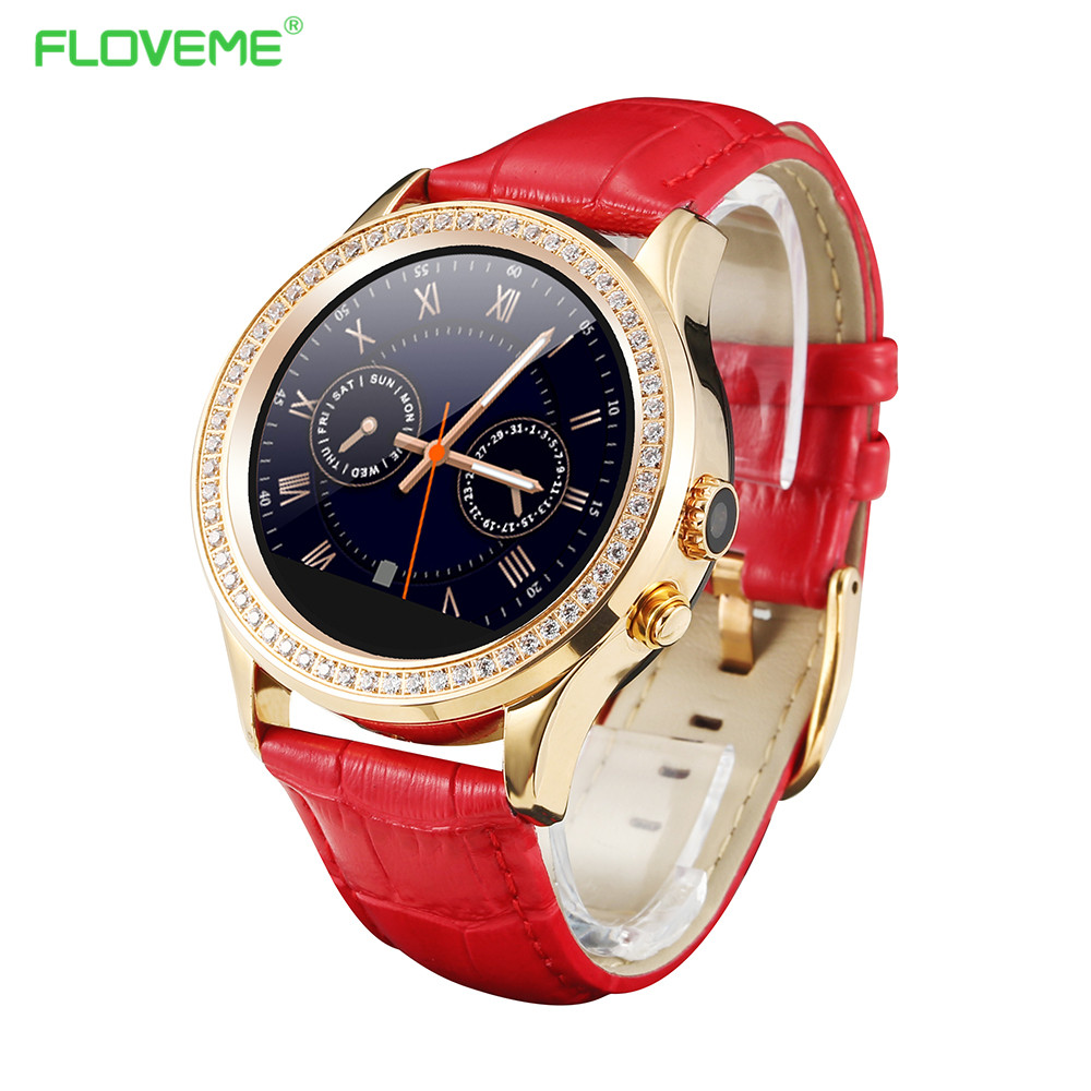 FLOVEME W8 Women Diamond Smart Watch Bluetooth Connection Smartwatch For Apple iPhone Android Electronic Relogio MTK2502 1.22''(China (Mainland))