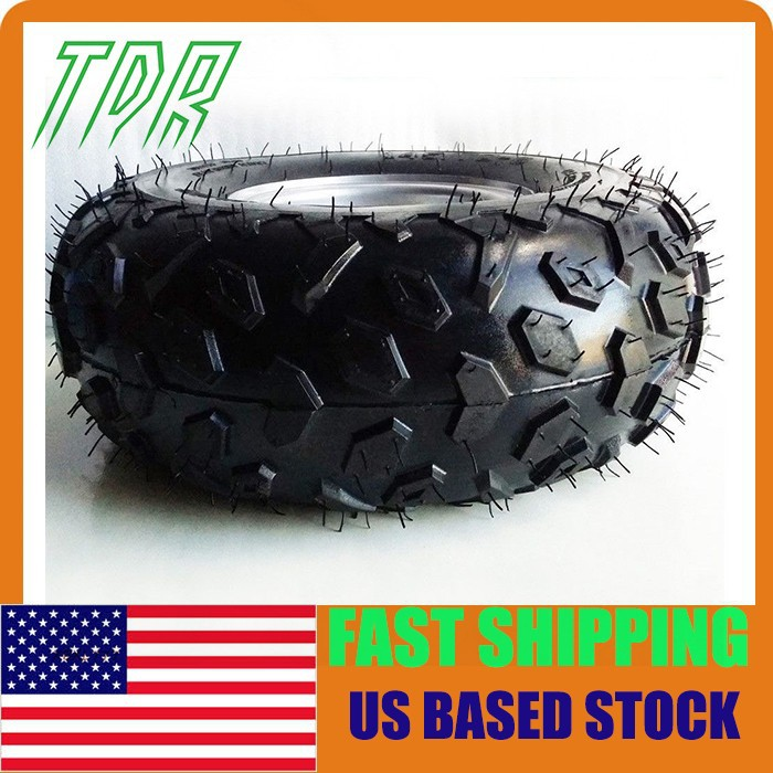 Go Kart Buggie Atv Quad 4 Wheeler Front Rear Atv Tires and Wheels 145 70 6 for 6