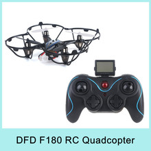 DFD F180 RC Mini Quadcopter Drone Toys 2.4G Remote Control Toys With 6-Axis Gyro LCO Transmitter Original Best Gift 2015