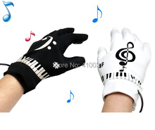 Musical Piano Glove Novelty Gift Electric Educational Toy for Kid Child Children Funny Fingertips Gadget Office Game Set Gimmick(China (Mainland))