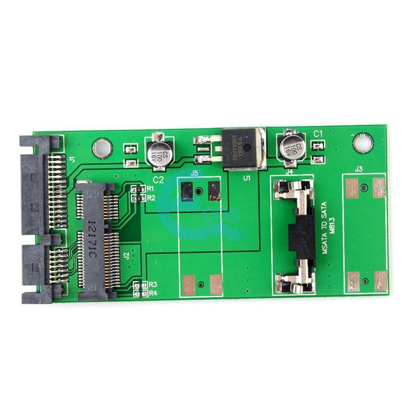 "Гаджет  New 50mm Small board mSATA SSD to 2.5 SATA Drive Converter Adapter""#55344 None Компьютер & сеть"