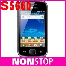 S5660 Unlocked Original Samsung S5660 Galaxy Gio 3.2'Touch Screen 3G GPS WIFI Quad band Free shipping Refurbished(China (Mainland))