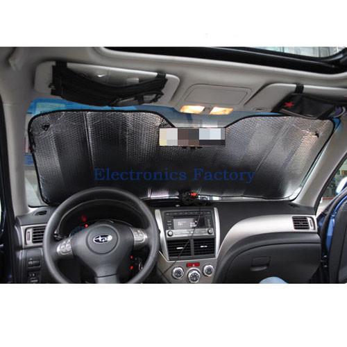 окно автомобиля авто алюминия ветровое стекло УФ защищать окна блока тепла Светоотражающий Складные задние лобовое зонтик 130 * 60 см