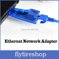 USB to RJ45 10/100 mbps USB Ethernet Network card LAN Adapter 50pcs/lot