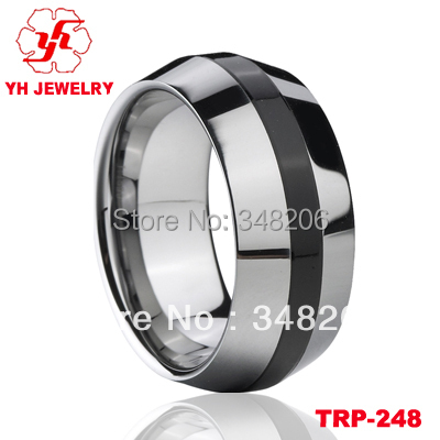 2015 Latest Tungsten Wedding Ring Design Indian Ring Baguette Eternity Rings For Men(China (Mainland))