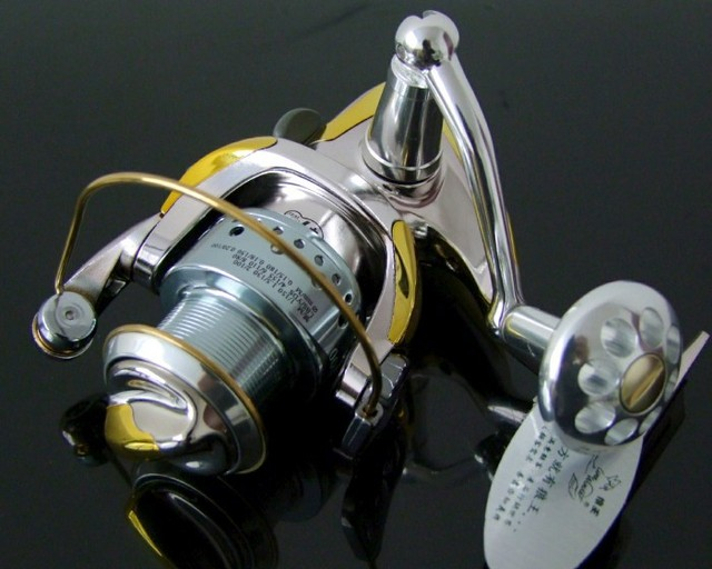 """New arrival,High quality Line Winder A2000 """"10+1BB/5.0:1"""",Metal Spinning fishing reels,fishing tackle,free shipping"""
