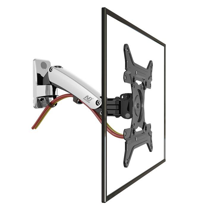 "30""-40"" NB F200 Gas Spring Full Motion LED LCD TV Wall Mount Retractable Rotation Monitor Holder Load Capacity 11~22lbs(5~10kgs)(China (Mainland))"
