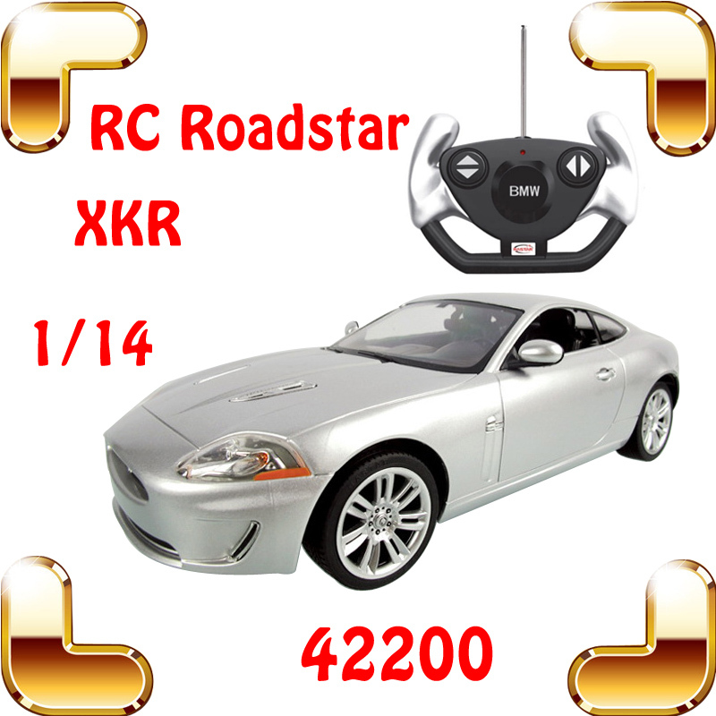 New Year Gift Rastar 42200 1/14 XKR RC Speed Radio Control Car Model Hobby Vehicle Rc Drift Machine Remote Toys Car For Boys(China (Mainland))