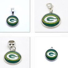 Buy 2017 New Fashion Green Bay Packers Team Charm Pendant Fit Bracelet&Floating Locket Charms DIY Dangle Charms Jewelry Football Fan for $7.02 in AliExpress store