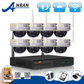 2TB HDD 8CH Wireless NVR Kit 720P 1 0MP HD Outdoor IR Vandal proof Dome IP