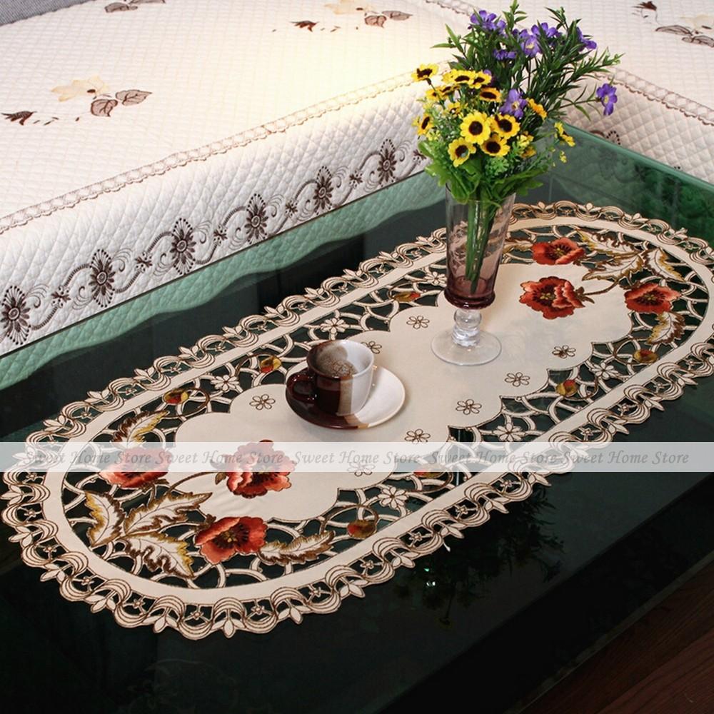 Acquista all 39 ingrosso online cutwork ricamo tovaglia da grossisti cutwork ricamo tovaglia cinesi - Tovaglia per tavolo ovale ...