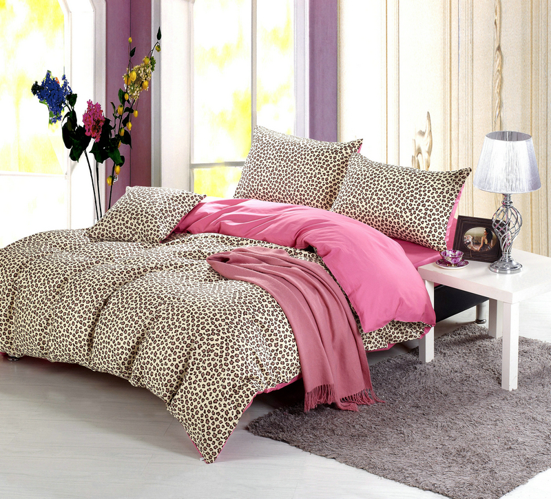 popular leopard print quilt buy cheap leopard print quilt. Black Bedroom Furniture Sets. Home Design Ideas