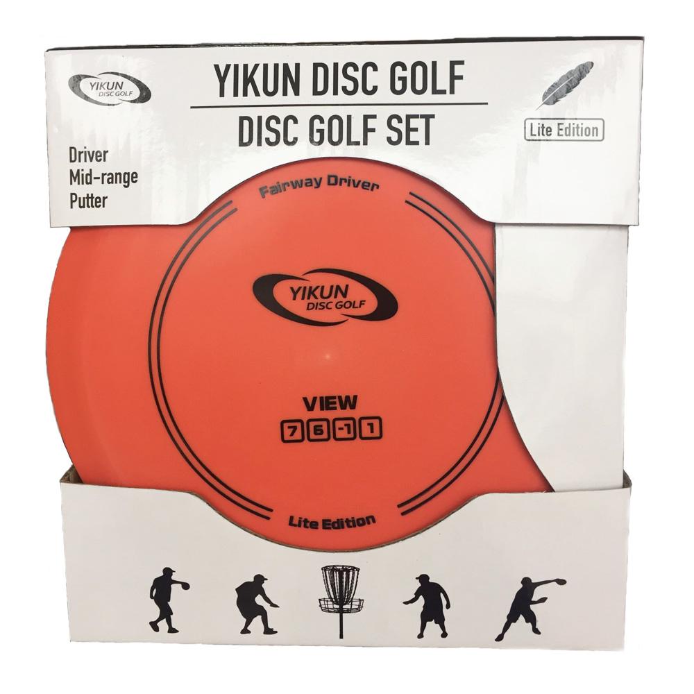 PDGA Approval Disc Golf Set  Golf Disc Set Starter Set Entry Level Driver Mid-range Putter 3 in 1<br><br>Aliexpress