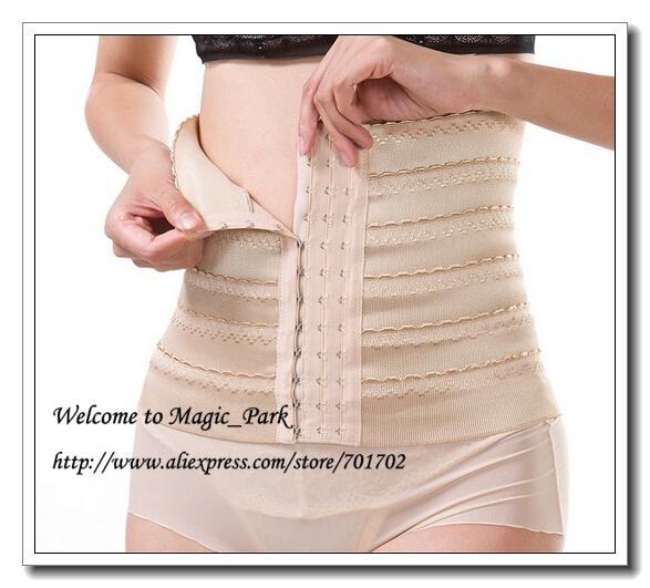 Magic Body Shapers Waist Cincher Waist Trimmer Firm Tummy Control Shapewear Women Girdles Plus Hot Body Shapers Belt Asian Size(China (Mainland))