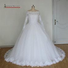 2015 Stunning New Model Brazil Hot Sale Ball Gown Wedding Dresses NS1070(China (Mainland))