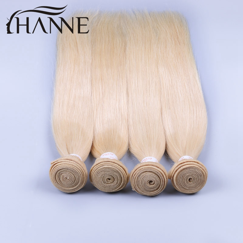 Straight Hair Bundles Hair Honey Blonde 613 Straight Virgin Hair 4 Bundles 7A Honey Blonde Brazilian Hair 100% Human Hair weave