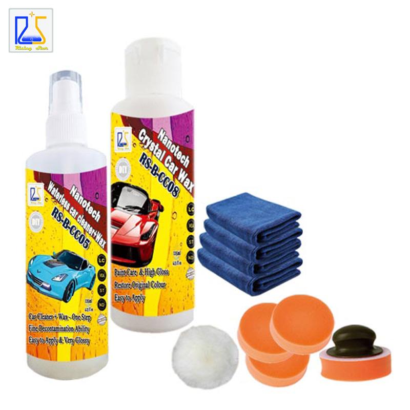 waterless car wash shampoo car paint cleaner car paint care hard wax car care polishing paste restore original color 250ml(China (Mainland))