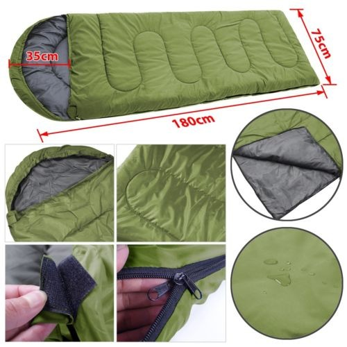 Good-deal-Adult-3-Season-Sleeping-Bag-Camping-Summer-With-UK-Post-1-8m-long (1)