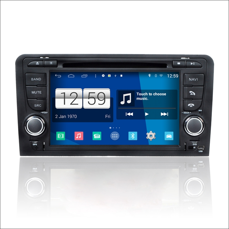 Car Andriod Navigation System For Audi A3 - Radio Stereo Audio Video HD Touch Screen CD DVD Player Nav Navi Multimedia(China (Mainland))