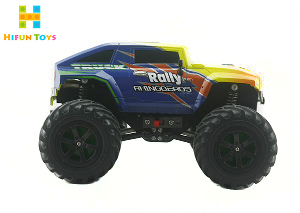 High Speed Mini 4WD RC Car 2.4G Remote Control Race Car Off Road Truggy Monster RC Bike Cross Country Traxxas Best Gift Boy Toy(China (Mainland))
