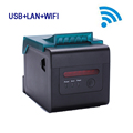 Impressora multifuncional WIFI Ethernet thermal printer 80mm qr code ticket printing with Alarm lights for kitchen