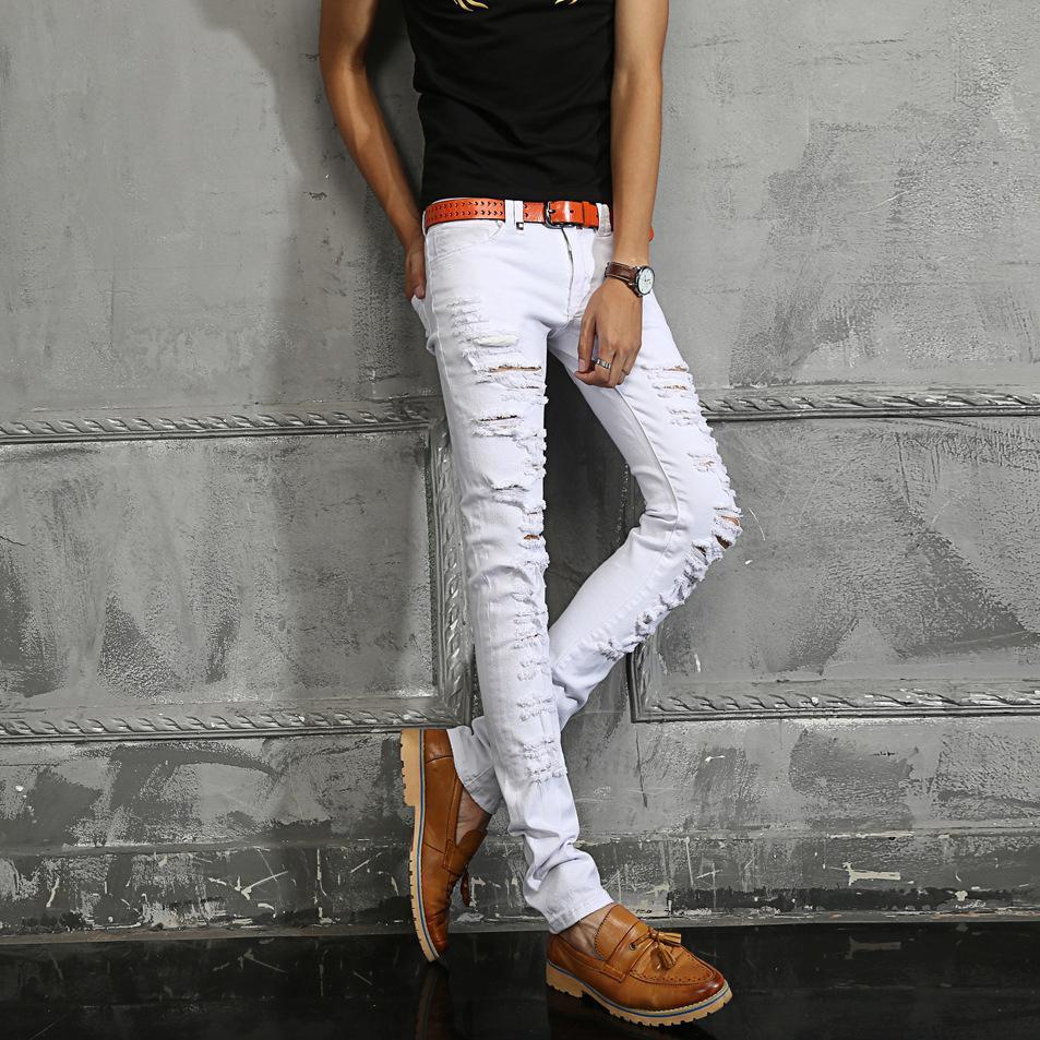 Разрез деним джинсы мужчины марка