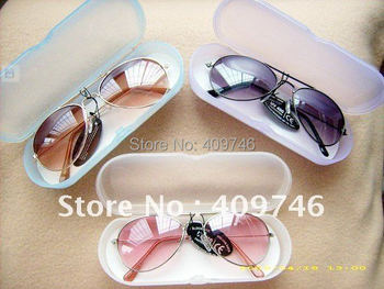 HOT 2014!! wholesale multi-colour fashion baby kids Children sunglasses glasses ANTI-UV 400 with case 10pcs/lot  Free shipping
