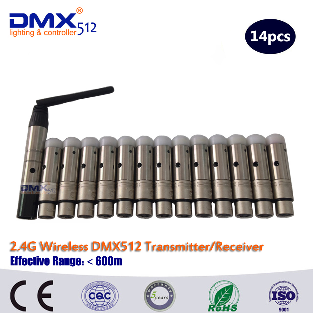 DHL Free Shipping Wireless DMX512 transitter /DMX Wireless Receiver/Transmitter(China (Mainland))