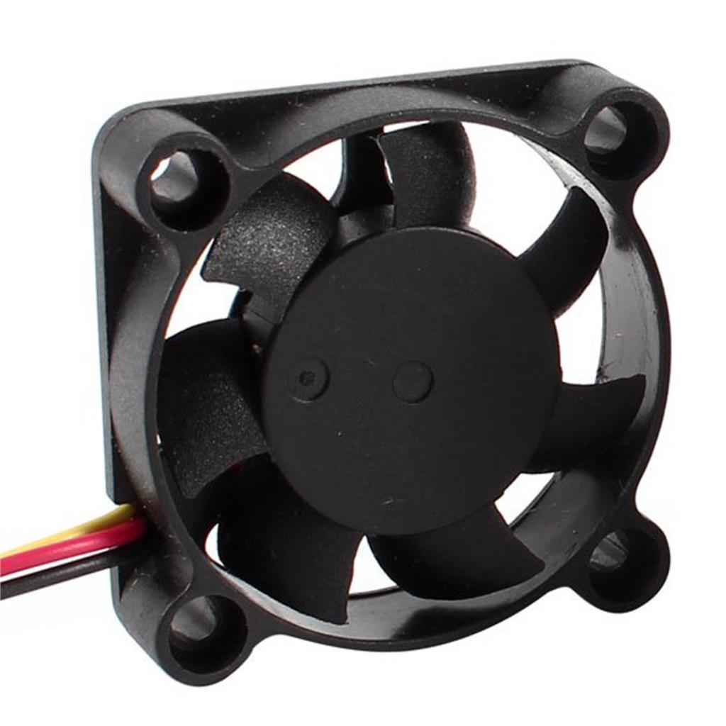 2016 New 2 Pcs 3 Pin 40mm Square PC Computer Cooling Fan DC 12V Black(China (Mainland))