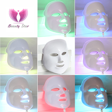 LED Facial Mask 3/7 Color LED Photon Facial Mask Wrinkle Acne Removal Face Skin Rejuvenation Facial Massage Beauty Spa Device(China (Mainland))