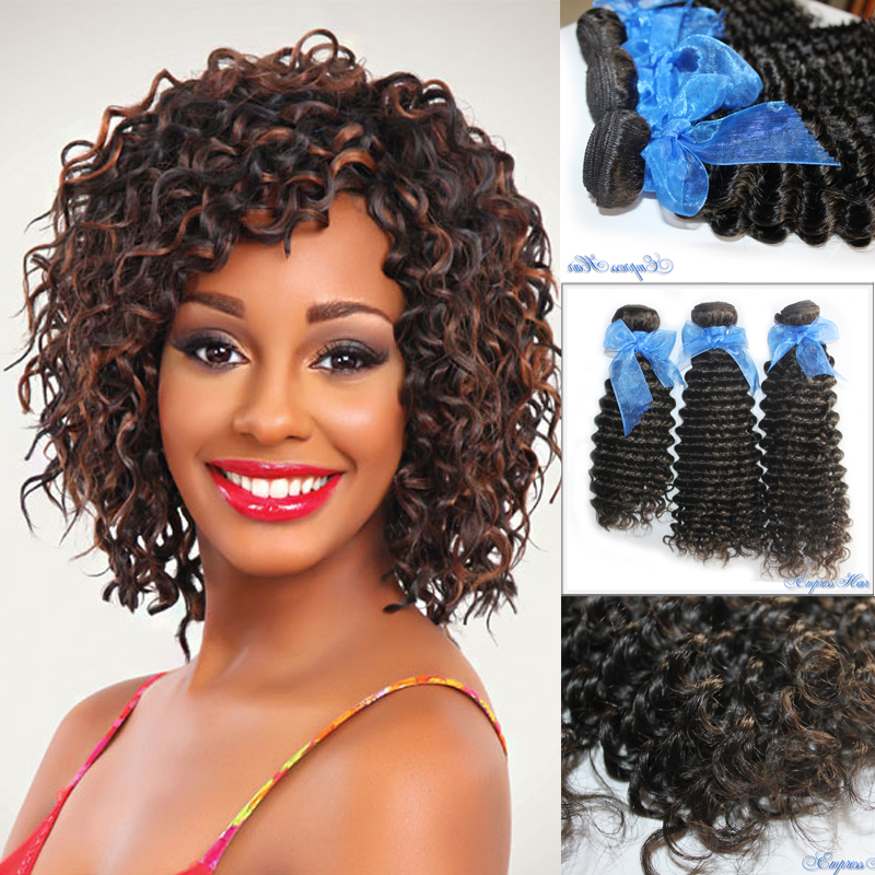 3 Bundles Of Peruvian Curly Hair, 100% Unprocessed Virgin Peruvian Hair, Free Grade 5A, Tangle and Shedding, Free Shipping