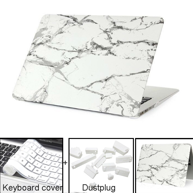 Гаджет  NEW Marble Texture Case For Apple Macbook Air Pro Retina 11 12 13 15 laptop bag case For Mac book Air 13 Pro 13 Retina13 15 case None Компьютер & сеть