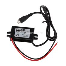 Car Charge DC Converter Module 12V-5V Micro USB Output Power Adapter 3A 15W(China (Mainland))