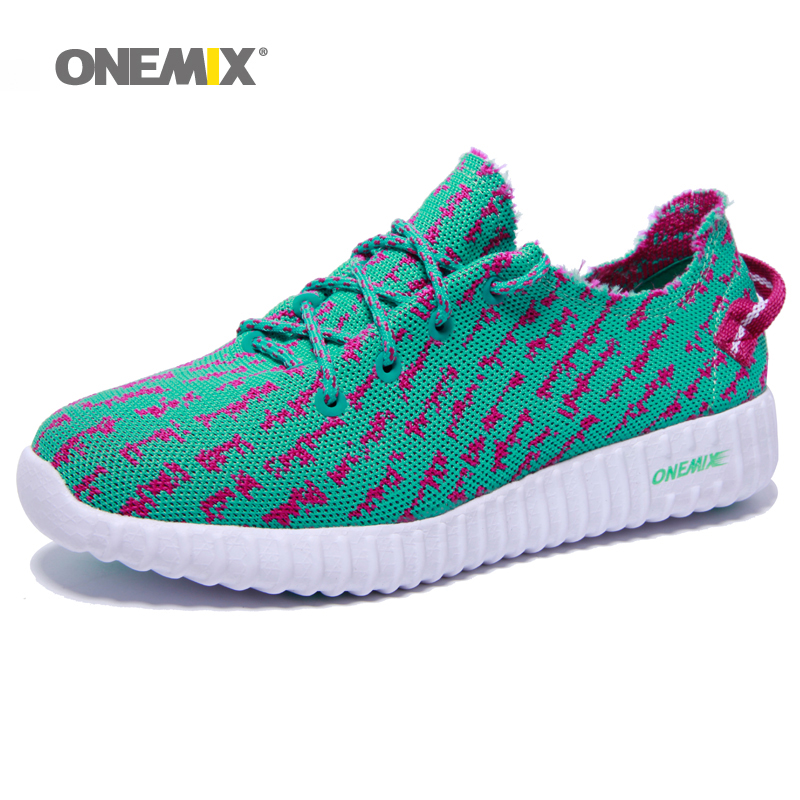 onemix original brand womens running shoes with 2 colors