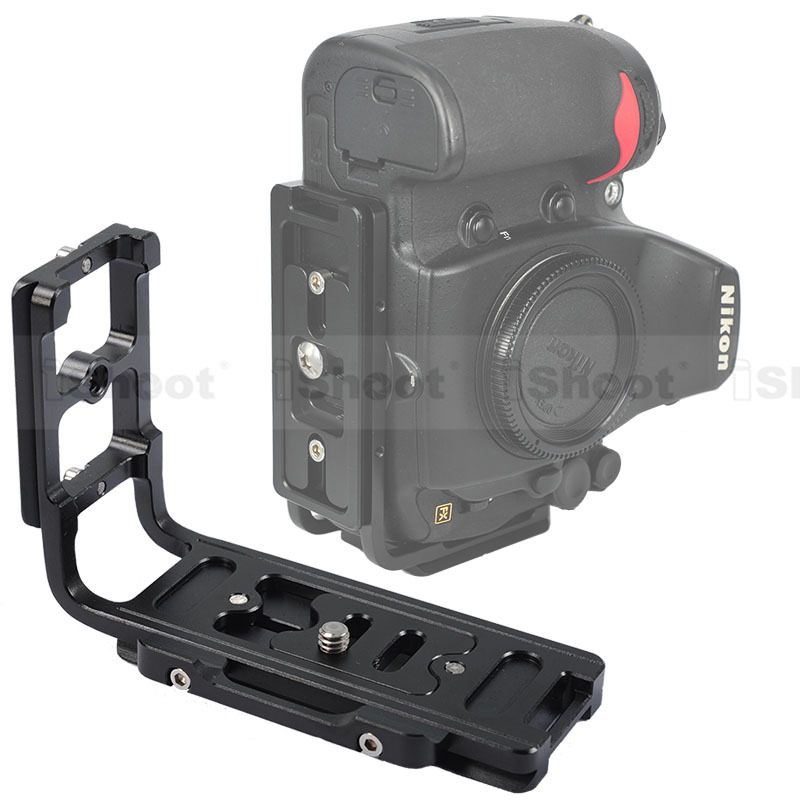 iShoot L Bracket Vertical Quick Release Plate Camera Holder Grip for Nikon D7100 D7000 D5200 D5100 D5000 D3200 D300/D600 D90 D80<br><br>Aliexpress