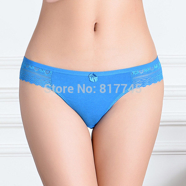 Wholesale New 2015 Women s Hipster Cotton Lace Briefs Panties 86812