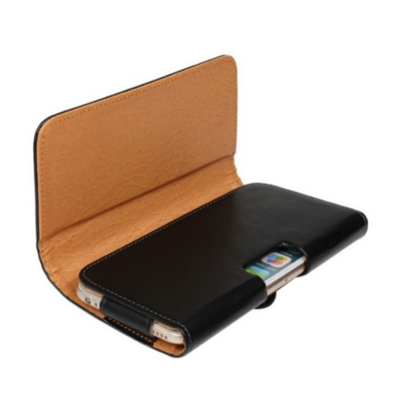 Horizonal Style PU Leather Belt Clip Skin Pouch Cover Case Elephone P8 / P8 Pro 5.7 Inch Phone BagsDrop