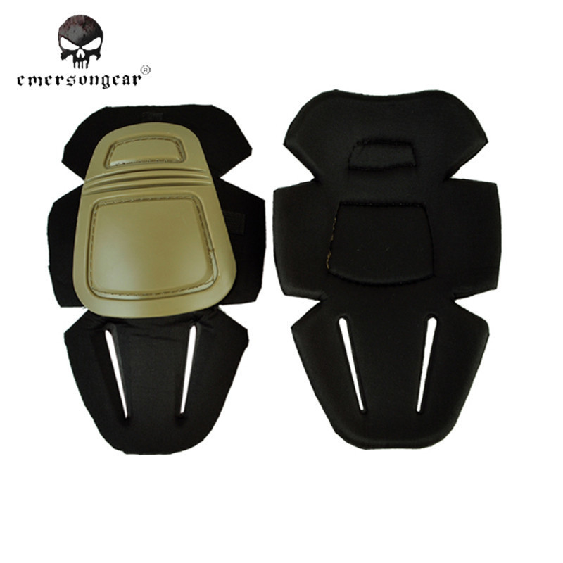 1 Pair Airsoft Emerson G3 Protector Combat Knee Pads Elbow Hunting Gear Tactical Equipment Protector Elbow Support Pad Tan/BK $(China (Mainland))