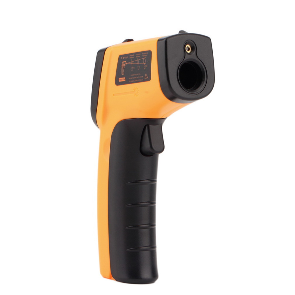 1pc Digital Non-Contact -50 To 330 degree LCD Back IR Laser Infrared Thermometer Themperature Measurement Electronic Point Gun<br><br>Aliexpress
