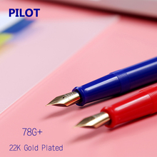 Buy LifeMaster Pilot Classic Fountain Pen 22K GOLD Plated Tip EF F M B Tip Ink Converter Smooth Writing for $19.00 in AliExpress store