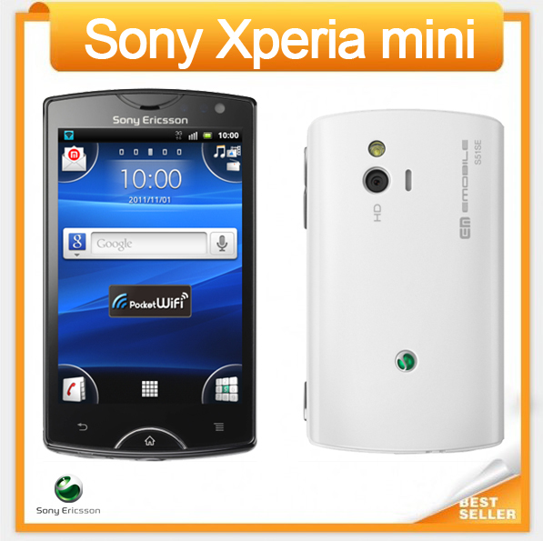 ST15i Original Sony Ericsson Xperia Mini ST15 Android 3G GSM WIFI GPS 5MP Unlocked Cell phone Free Shipping(China (Mainland))