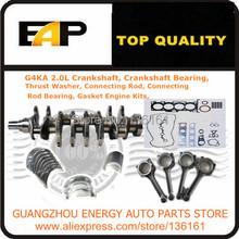 Crankshaft Bearing, Connecting Rod, Connecting Rod Bearing, Gasket Engine Kits,FOR South Korea's SONATA G4KA 2.0L 16V