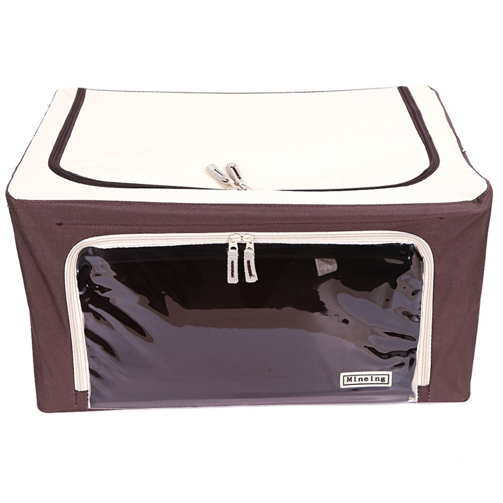 Containing Box Storage Boxes & Bins Natural polyester Canvas Oxford Storage Box, Convenient Storage Box for Clothes(China (Mainland))
